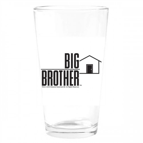 Big Brother Pint Glass