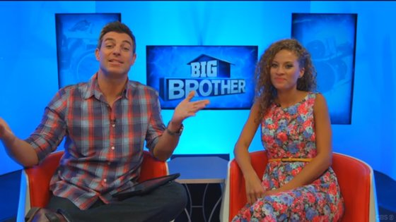 Jeff Schroeder Interviews Evicted Houseguest Amber Borzotra