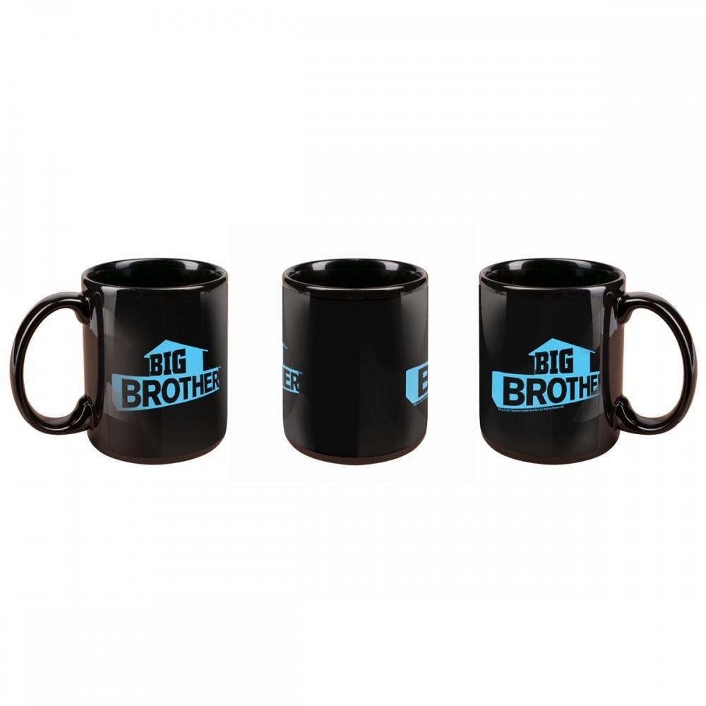 Big Brother Blue Logo Mug Image
