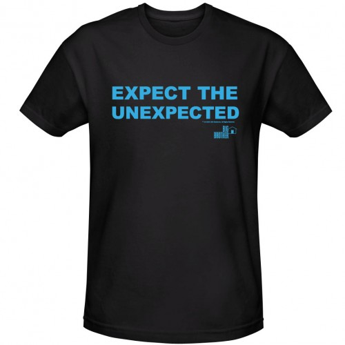 Big Brother Expect The Unexpected T-shirt Image