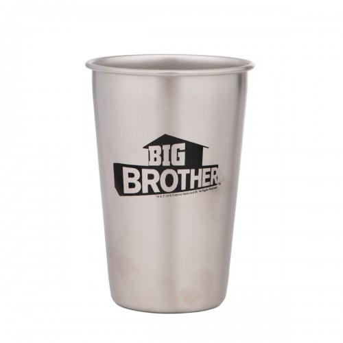 Big Brother Steel Pint Glass Image