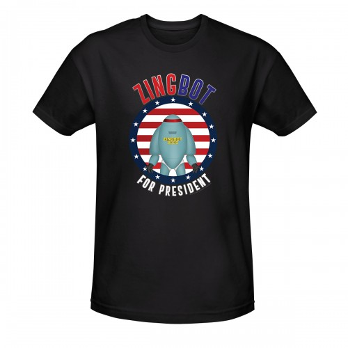 Big Brother Zingbot For President T-shirt Image